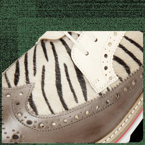 Derbies Trevor 10 Vegas Stone Hairon Young Zebra