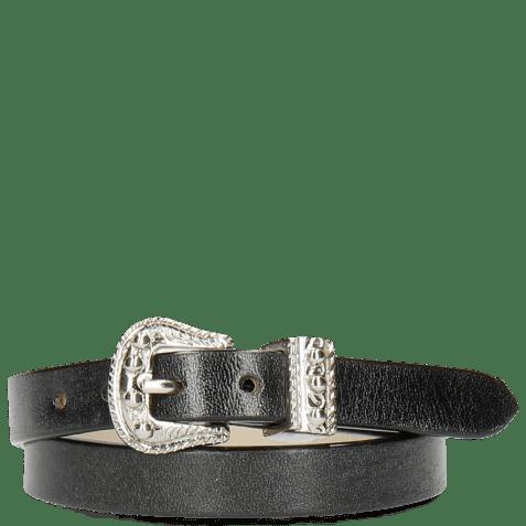 Bracelets Ines 1 Black Buckle Nickle