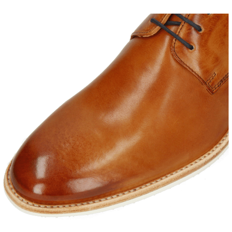 Derbies Clint 1 Imola Tan Deco Pieces Navy