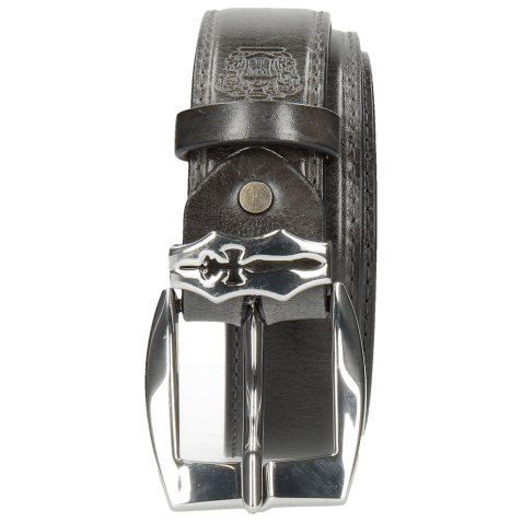 Ceintures Larry 1 Grigio Sword Buckle