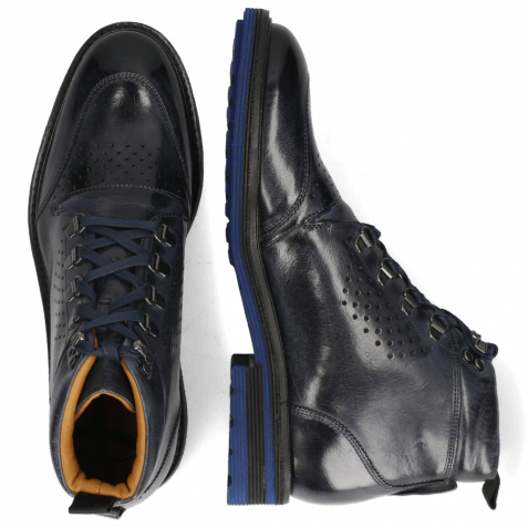 Bottines Trevor 5 Classic Navy Laces Blue Lining