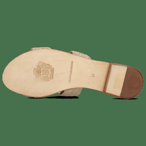 Mules Hanna 74 Woven Brume Socks Foam