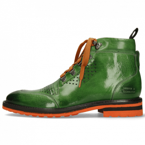 Bottines Trevor 5 Classic Prato Laces Orange