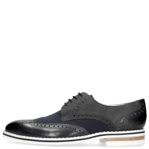 Derbies Kane 5 Lycra Navy Nubuck Deep Navy