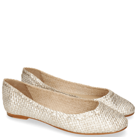 Ballerines Kate 5 Woven Cherso Bisque
