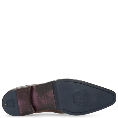 Derbies Lance 2 Tan Lining Purple