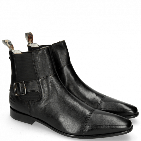 Bottines Elvis 61 Pavia Black Loop Camo