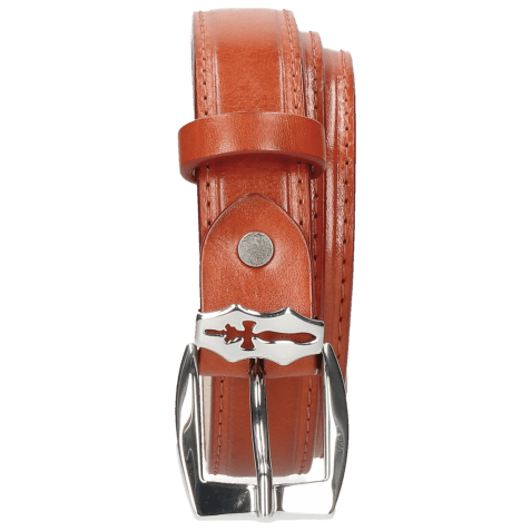Ceintures Linda 1 Winter Orange Sword Buckle