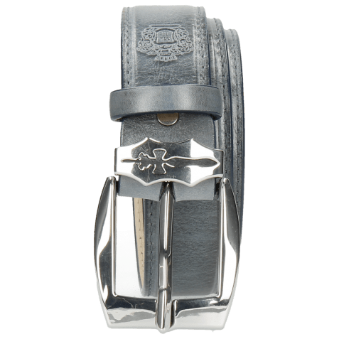 Ceintures Larry 1 Moroccan Blue Sword Buckle
