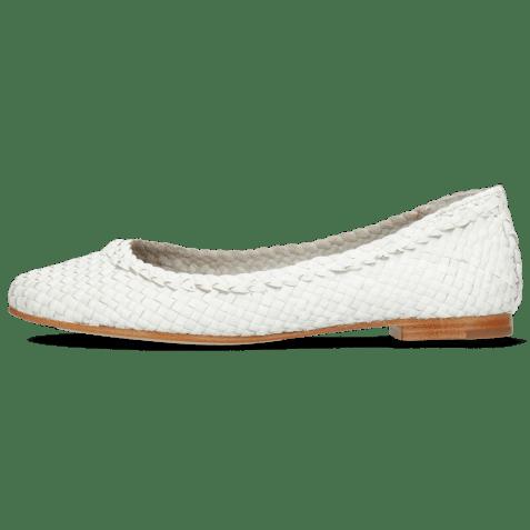 Ballerines Kate 5 Woven White