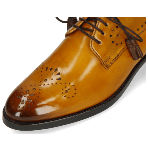 Derbies Betty 2 Indy Yellow Dark Finishing