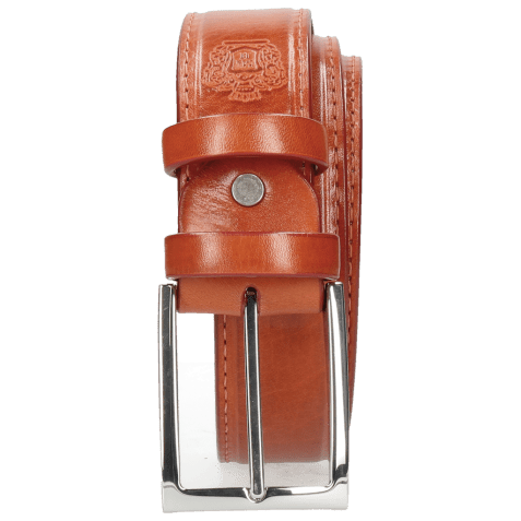 Ceintures Larry 1 Winter Orange Classic Buckle