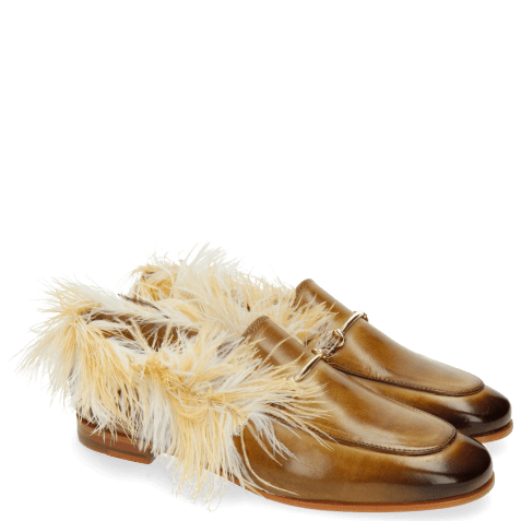 Mocassins Scarlett 1 Cashmere Top Line Feather
