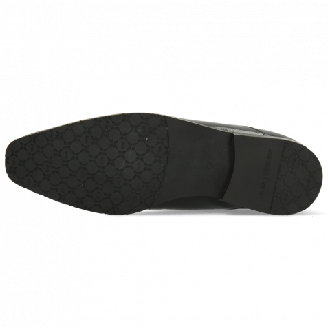 Richelieu Rico 42 Rio Black Suede Pattini Black Patch