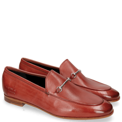 Mocassins Scarlett 1 Pavia Ruby Slim Trim