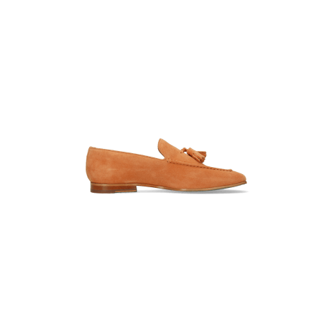 Mocassins Clive 20 Suede Pattini Orange