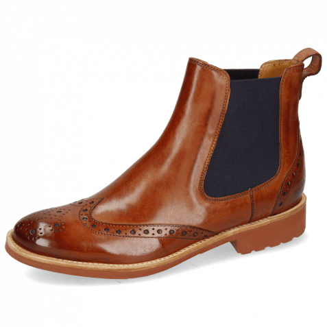 Bottines Amelie 5 Wood Elastic Purple Lining