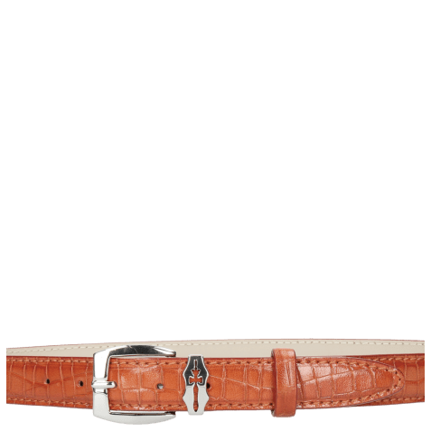 Ceintures Linda 1 Crock Winter Orange Sword Buckle