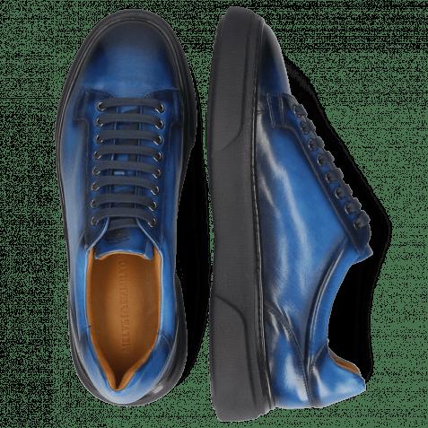 Sneakers Harvey 42 Monza Mid Blue Shade Navy