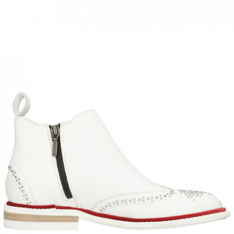 Bottines Sandy 4 Milled White Rivets