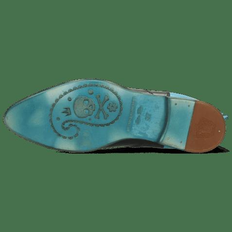 Bottines Keira 7 Vegas Black Turquoise Loop