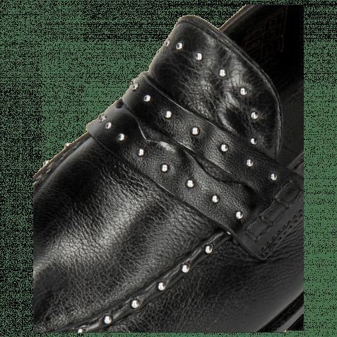 Mocassins Scarlett 42 Pavia Black Nappa Glove