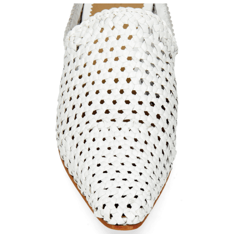 Mules Joolie 14 Woven White