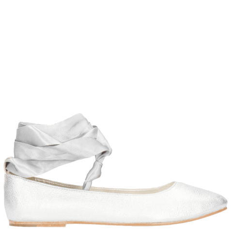 Ballerines Melly 4 Talca Silver Ribbon