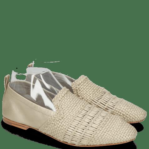 Mocassins Hailey 1 Mignon Sheep Ash Glove Nappa