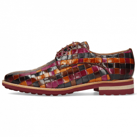 Derbies Brad 7 Woven Multi 7 Lining Rich