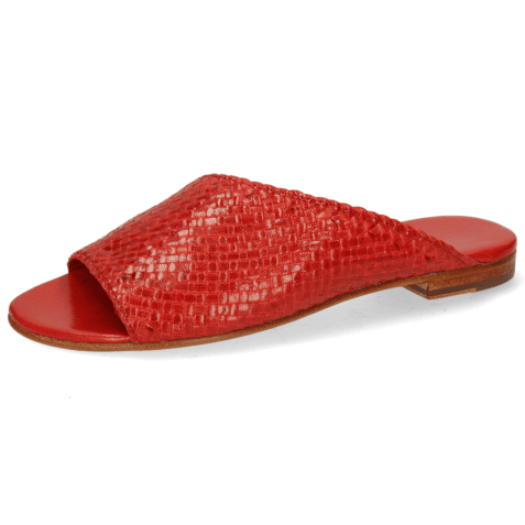 Mules Hanna 40 Woven Goat Red