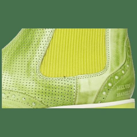 Bottines Selina 29 Imola Perfo Verde Chiaro