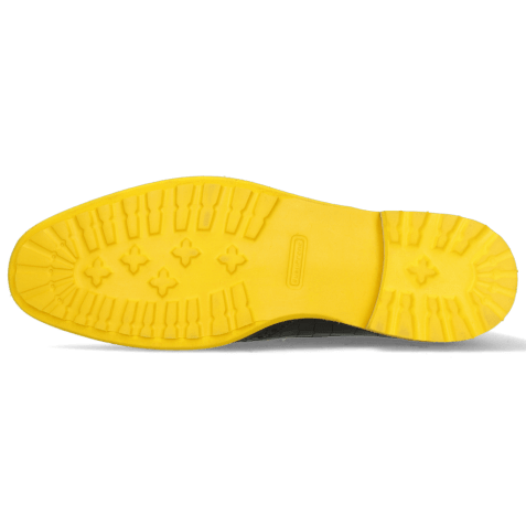 Bottines Eddy 10 Crock Navy Pop Yellow