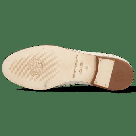 Derbies Sandy 1 Nappa Glove Perfo Ivory