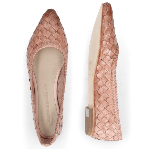 Ballerines Lydia 3 Woven Scale Rosa