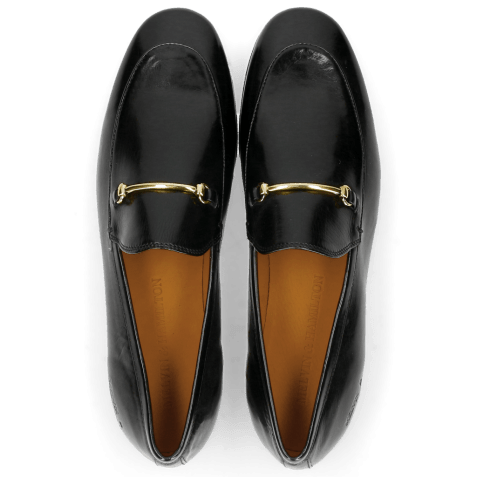 Mocassins Scarlett 1 Black Trim Gold