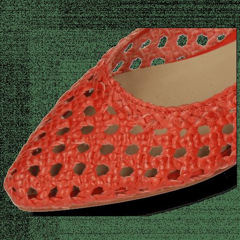 Ballerines Alexa 16 Open Woven Red