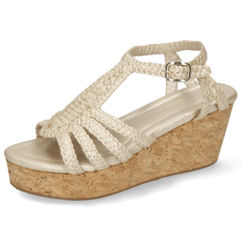 Sandales Hanna 55 Woven Pearl Cork
