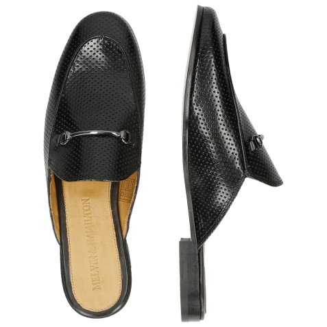 Mocassins Scarlett 4  Perfo Black LS Natural