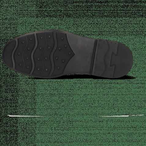 Derbies Ron 2 Stone Net Lycra Navy Patch