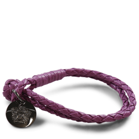 Bracelets Caro 1 Woven Eggplant Accessory Gunmetal