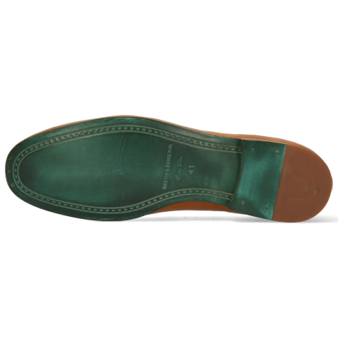 Mocassins Clive 21 Imola Woven Tan Binding Snake Sand