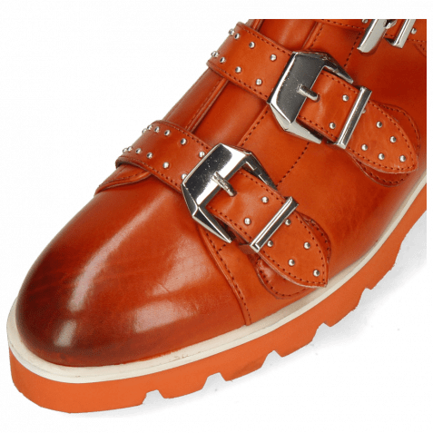 Bottines Susan 44 Orange Sword Buckle