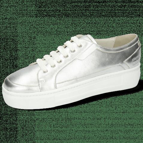 Sneakers Amber 2 Metallic Nappa Silver