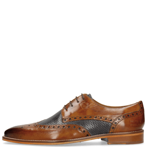 Derbies Martin 15 Berlin Tan Perfo Navy