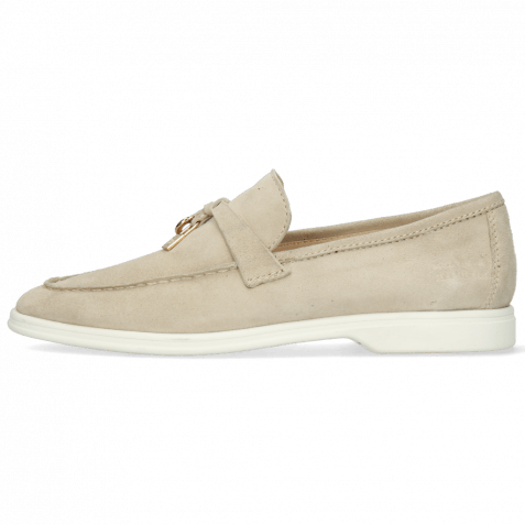 Mocassins Adley 3 Oily Suede Off White Accessory
