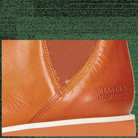 Bottines Susan 76 Vegas Orange Elastic Orange