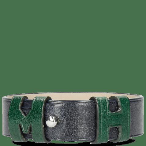 Bracelets Archie 1 Navy Loops Pine Studs Nickle