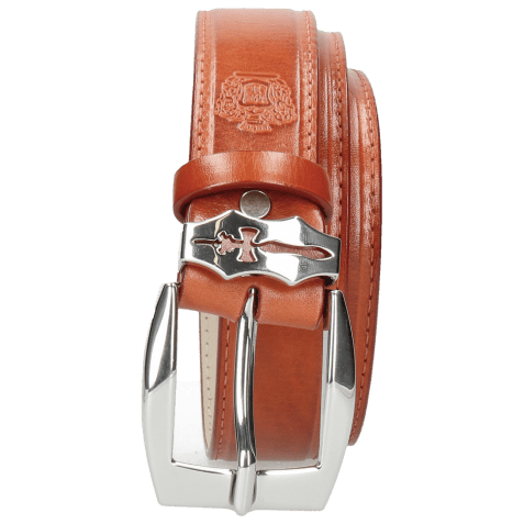 Ceintures Larry 1 Winter Orange Sword Buckle