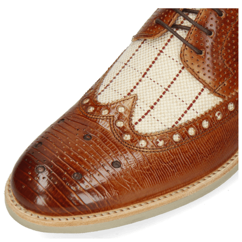 Derbies Clint 34 Guanna Tan Line Jute Mesh